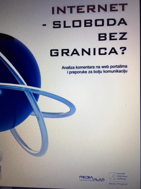 Analiza komentara na web portalima i preporuke za bolju komunikaciju: INTERNET – SLOBODA BEZGRANICA?